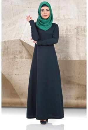 Mustafa Dikmen Mevsimlik Puantiyeli Basic Elbise 179005 Lacivert