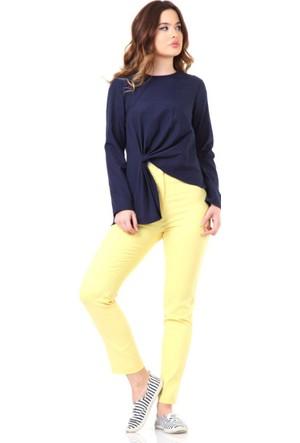 Touche Klasik Kesim Pantolon 6Y1T076 Sarı