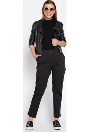 Cepli Pantolon - Siyah - Koton