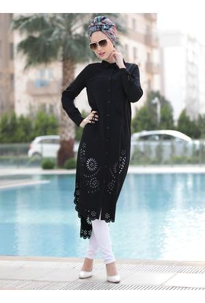 Hayal Tunik - Siyah - Selma Sarı Design