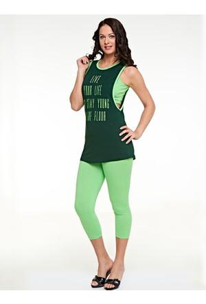 Pijama Takımı - Yeşil - Dünya Yıldızı