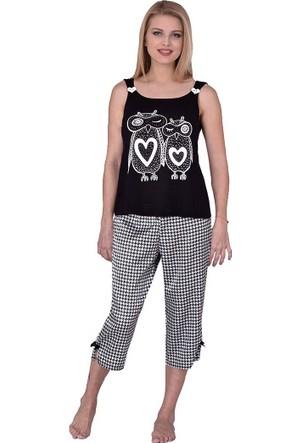 Pijama Takımı - Siyah - I&D Lıngerıe