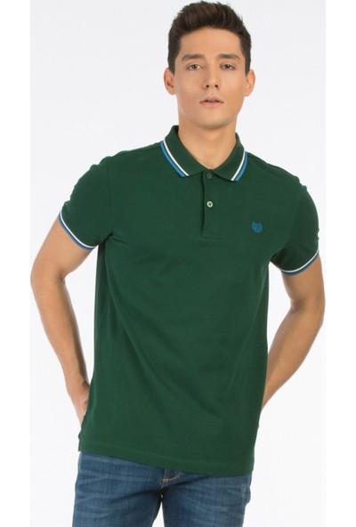 Colin's Yeşil Erkek Kısa Kollu Polo T-Shirt