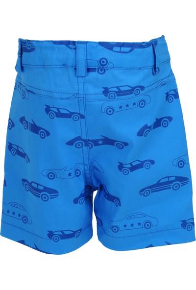 Zeyland Erkek Çocuk Mavi Şort - 71M1ERF04
