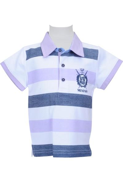 Zeyland Erkek Çocuk Beyaz Polo Yaka T-Shirt - 71M1LJM51