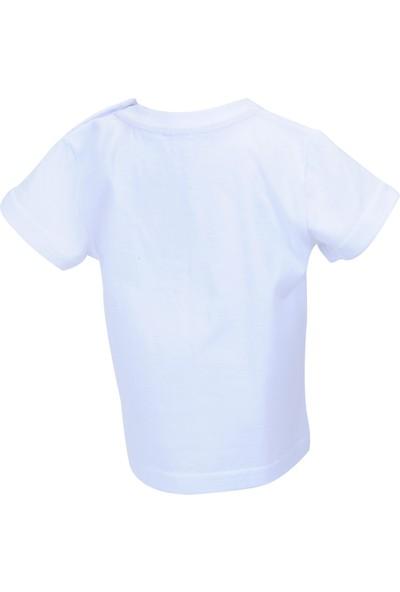 Zeyland Erkek Çocuk Beyaz T-shirt - 71M1LJM54