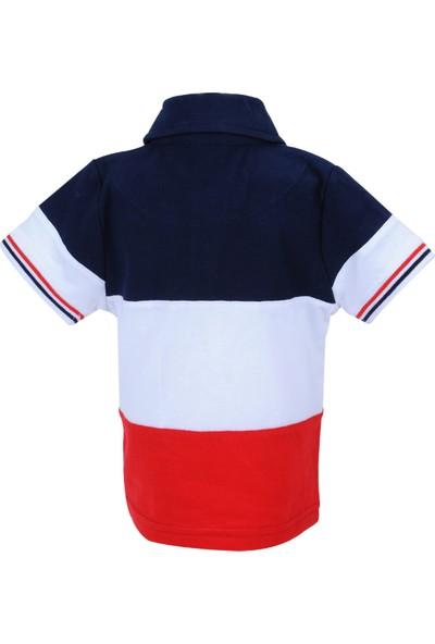 Zeyland Erkek Çocuk Beyaz Polo Yaka T-Shirt - 71M1MNF53