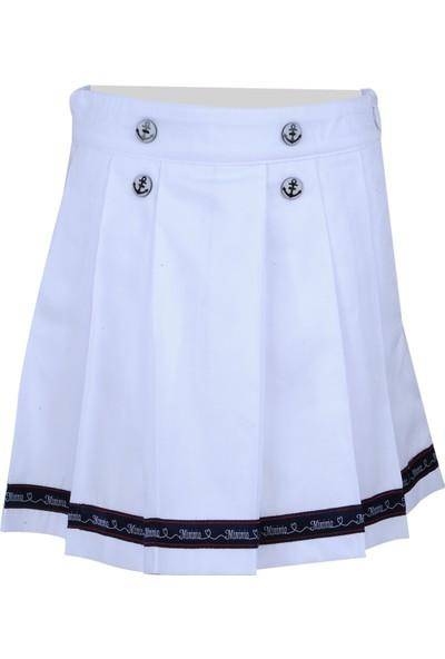 Zeyland Kız Çocuk Beyaz Etek - 71M4CRE11
