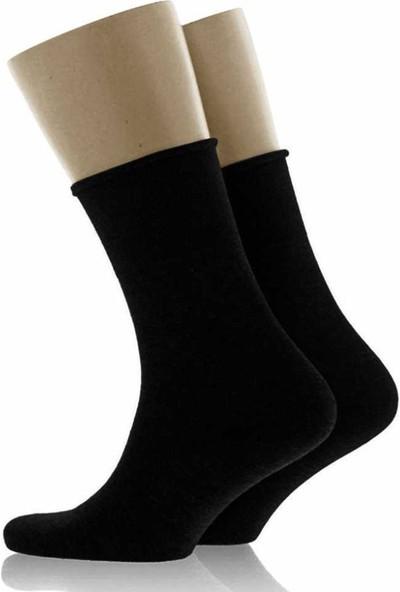 Sibiu Siyah Erkek Çorap 39-44 Numara