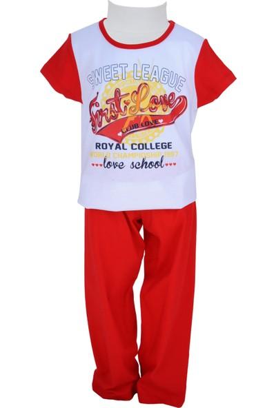 Zeyland Kız Çocuk Kırmızı Pijama Takımı - 71Z4PJM206