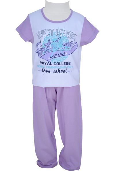 Zeyland Kız Çocuk Lila Pijama Takımı - 71Z4PJM206