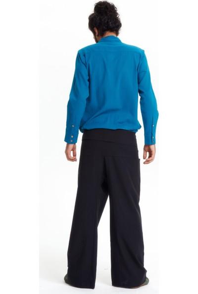 Los Banditos Erkek Siyah Balıkçı Pantolon P080