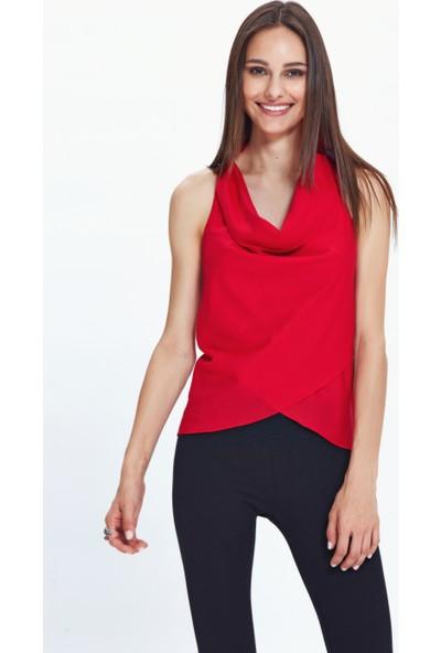 Los Banditos Kadın Kırmızı Anjuna Bluz B06
