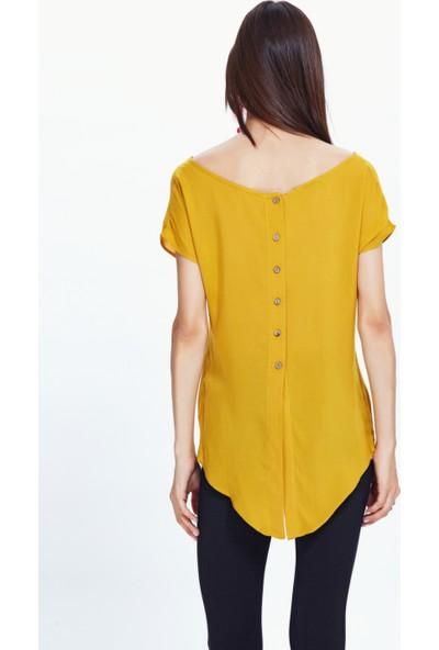 Los Banditos Kadın Sarı Unique Bluz B27
