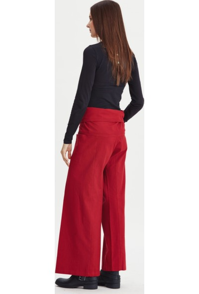 Los Banditos Kadın Kırmızı Balıkçı Pantolon P08