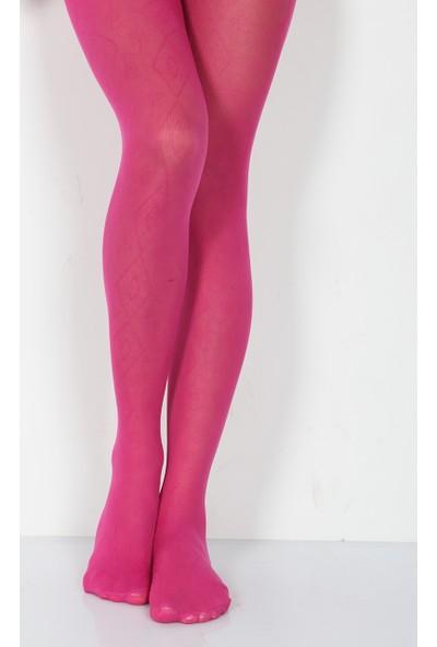 Pierre Cardin Celena Micro 40 Desenli Külotlu Çocuk Çorabı