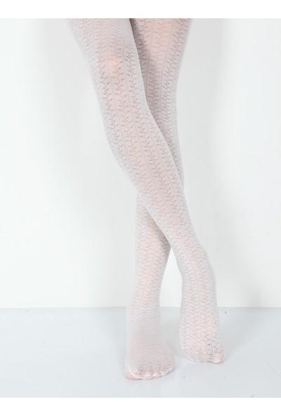 Pierre Cardin Micro 40 Desenli Külotlu Çocuk Çorabı