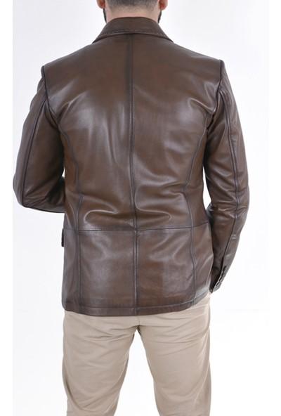Gön Deri Erkek Ceket D4501