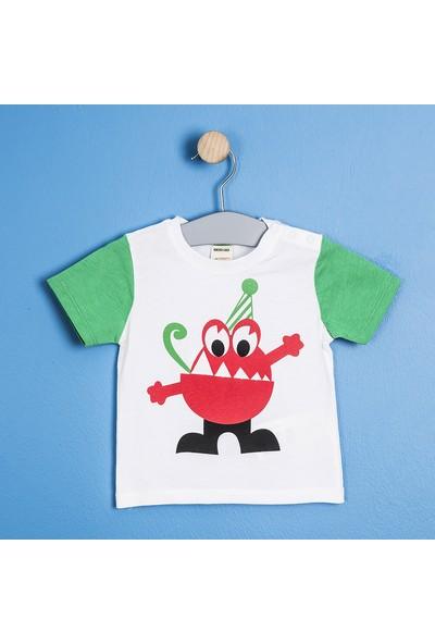 Soobe Monster Kısa Kol T-Shirt Yeşil