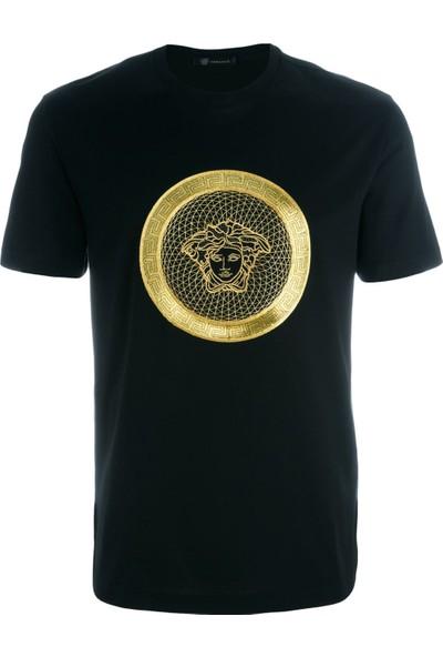 Guice Paris Versace Gold Medusa Model Bayan TShirt