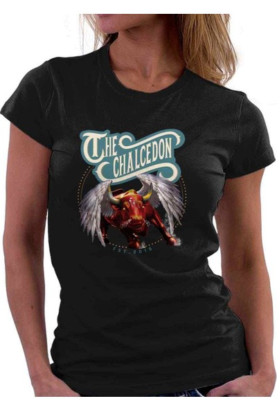 The Chalcedon Bull On Paradise Bayan Tshirt
