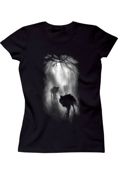 The Chalcedon From The Darkness Siyah Bayan Tshirt