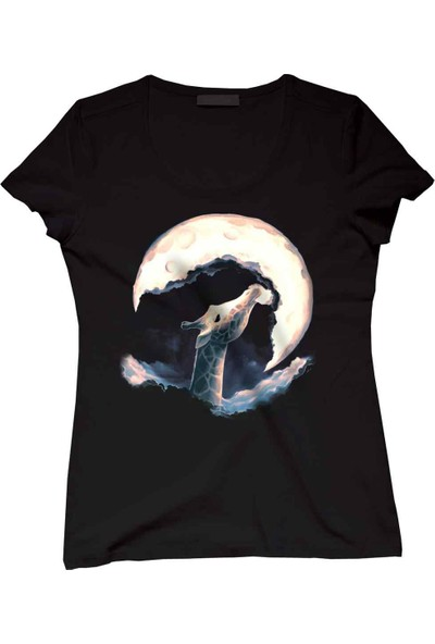 The Chalcedon Moon Like Candy Floss Bayan Tshirt
