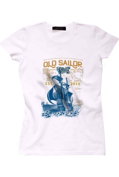 The Chalcedon Old Sailor Sailor Series Bayan Tshirt