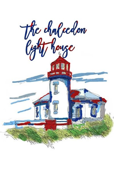 The Chalcedon Paint Light House Bayan Tshirt