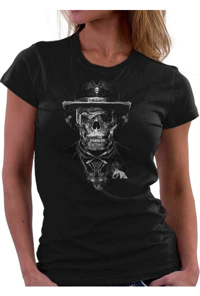 The Chalcedon Zippy Skull Bayan Tshirt