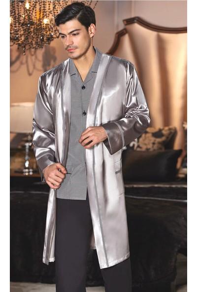 Batista 41 Çeyizlik Satene Koton Beşli Erkek Pijama Takımı