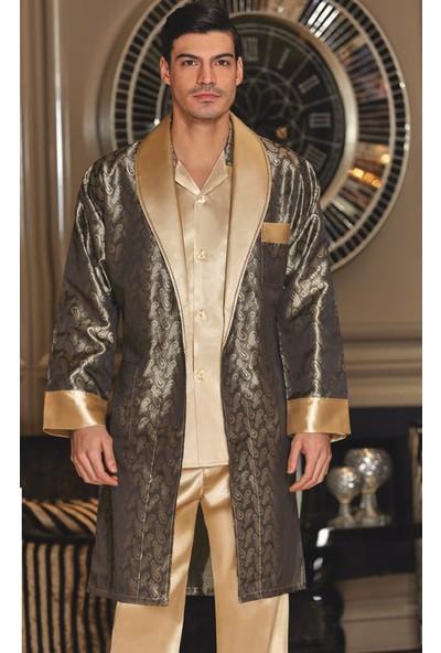 Batista 77 Satene Saten Dörtlü Erkek Pijama Takımı