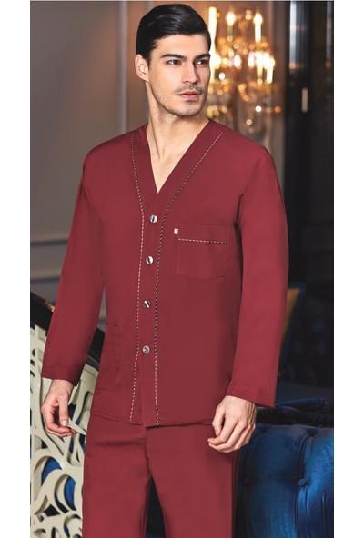 Batista 130 Koton Düğmeli Erkek Pijama Takımı