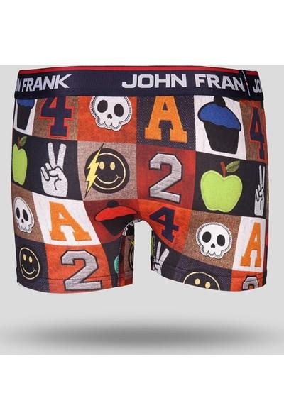 John Frank Patchy Boxer - Renkli