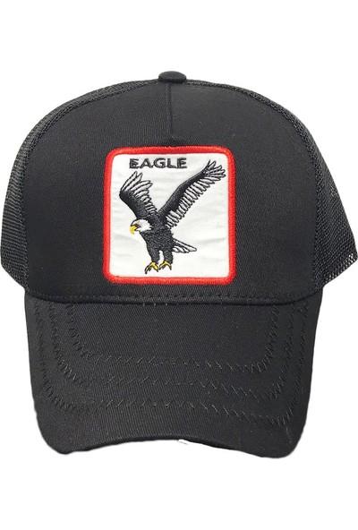 We Cool Hayvan Figürlü Şapka Eagle Siyah - 17002