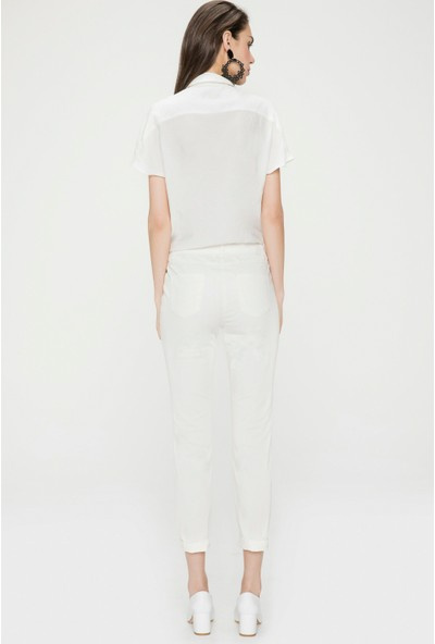 Just Like You 034 Beyaz Pantolon