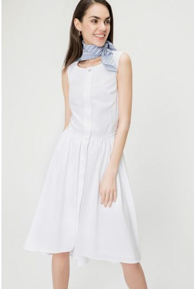 Just Like You 019 Beyaz Elbise