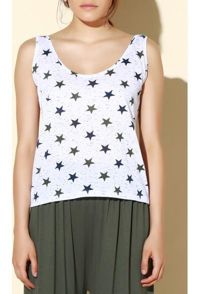 Quincey Askılı T-Shirt