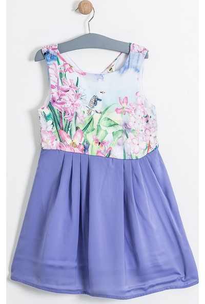Soobe Monets Garden Kolsuz Elbise 15YKGELB1840_14-3612