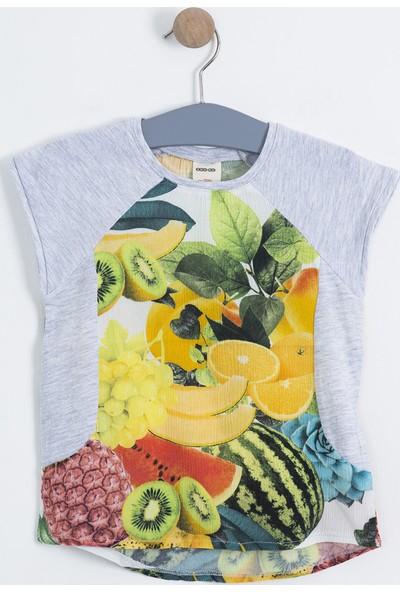 Soobe Kız Çocuk Kısa Kol T-Shirt SBCKCTSRT298_00-0004