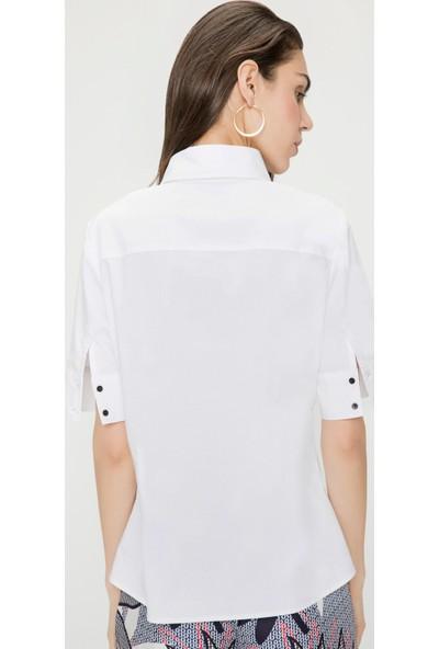 Just Like You 051 Beyaz Gömlek