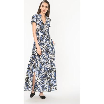067d6ed3edf4a Just Like You 033 Yaprak Desen Elbise Fiyatı - Taksit Seçenekleri