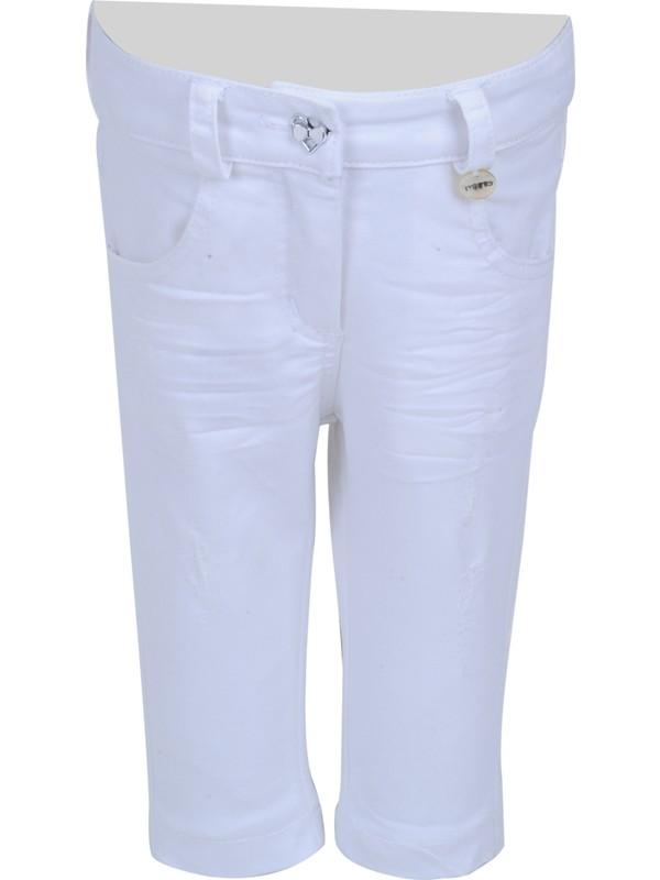 Zeyland Kız Çocuk Beyaz Pantolon - 71M2YSR01