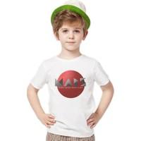 Tshirthane Nasa Mars Uzay Erkek Çocuk T-Shirt