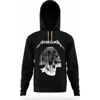 Tshirthane metallica skull Erkek Sweatshirt