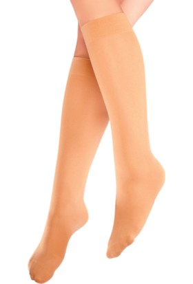 Mite Love Teni Göstermeyen Mikro 70 Dizaltı Çorap Ten