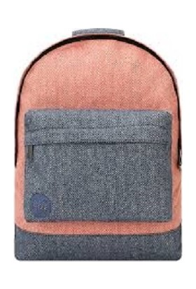 Mi-Pac Herringbone Mix Terracotta/navy