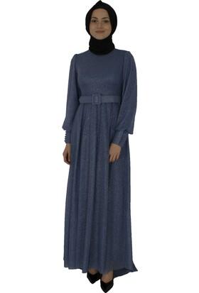 Arda New Line Kadın Indigo Elbise 6502200-10.98