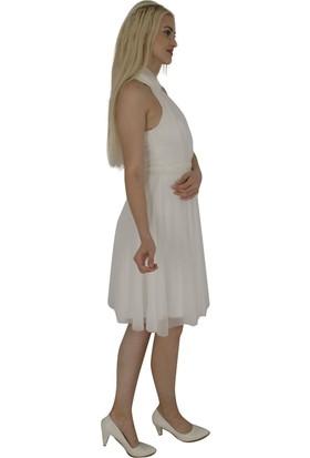 Arda New Line Kadın Ekru Elbise 9704570-10.147