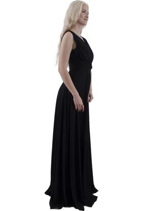 Arda New Line Kadın Siyah Abiye 1301436-10.01